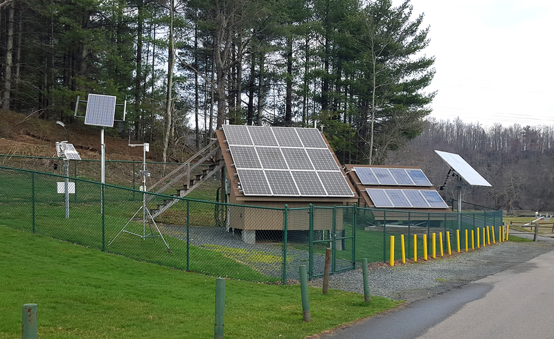 JuiceBox Energy Storage System Installation at Appalachian State University in North Carolina