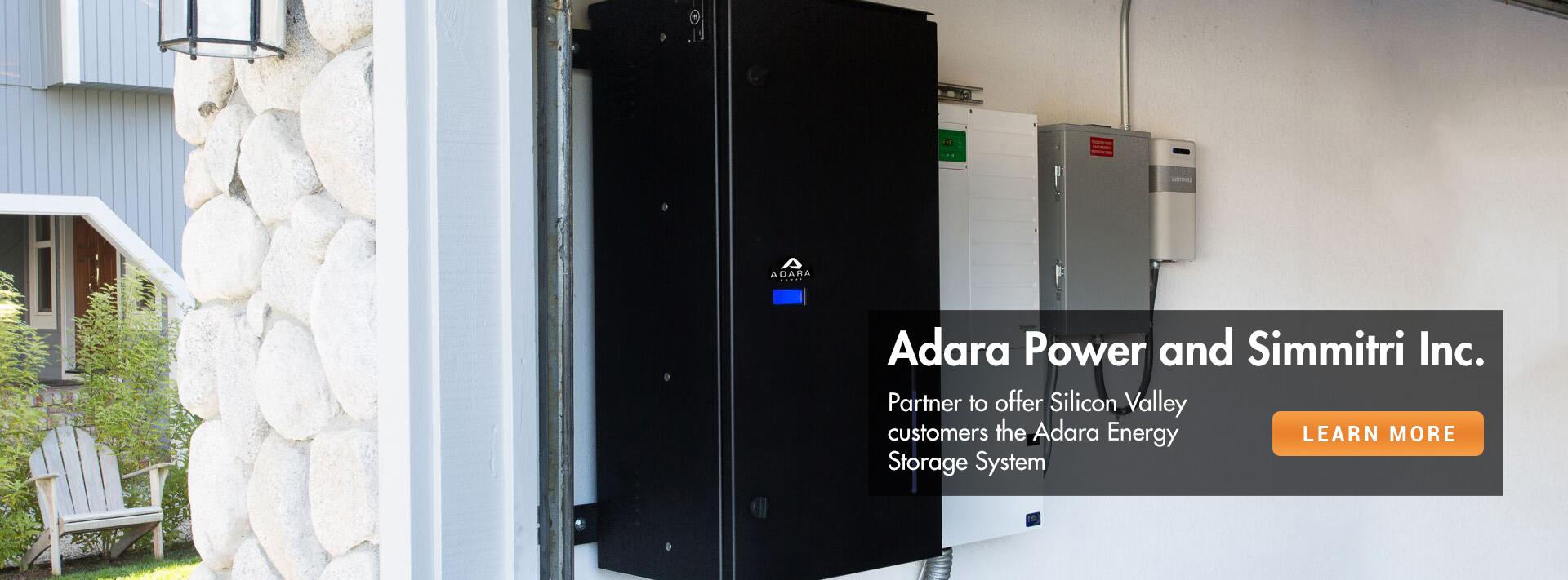 Adara Power Lithium Ion Solar Energy Storage Systems